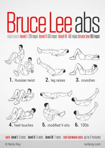 bruce-lee-abs-routine